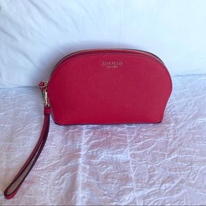 New Red Kate Spade Cosmetic Bag
